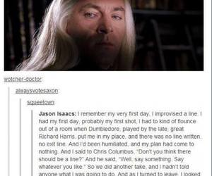 harry potter, daniel radcliffe, and lucius malfoy image