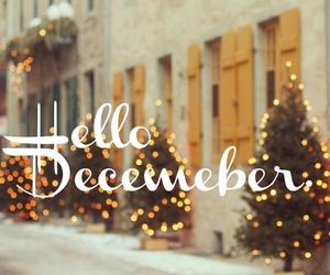 december, christmas, and hello image