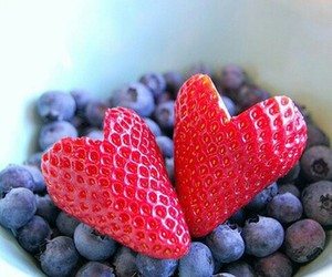 berrys, eat, and strawberry image