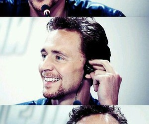 tom hiddleston, loki, and smile image