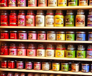 candle, yankee candle, and smell image