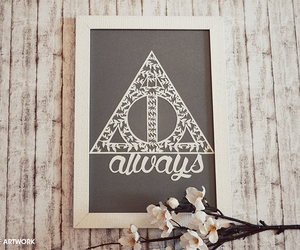 always, diy, and harry potter image