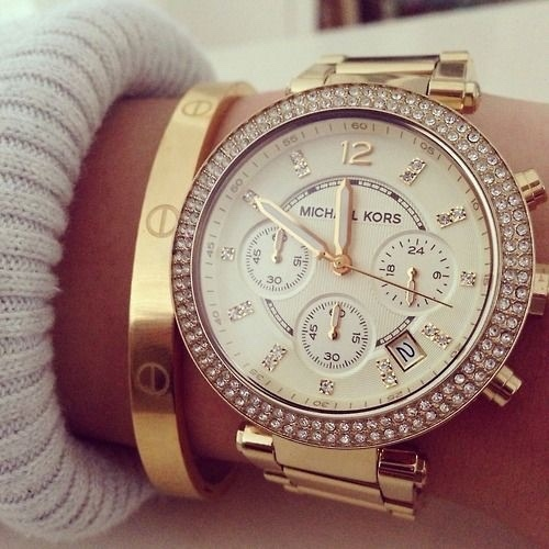 mk, chic, and watches image