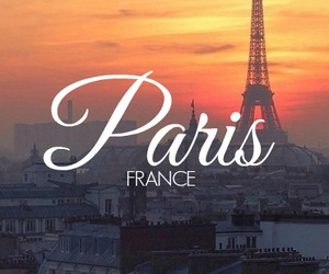 france, paris, and pretty image
