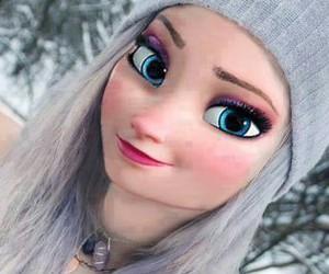 elsa, frozen, and disney image