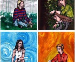chris, eddie, and grunge image