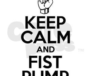keep calm, jersey shore, and fistpump image