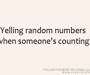 numbers, quote, and funny image