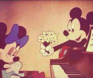 disney, flower, and love image