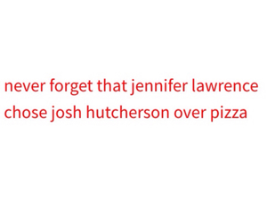 Jennifer Lawrence, quote, and the hunger games image