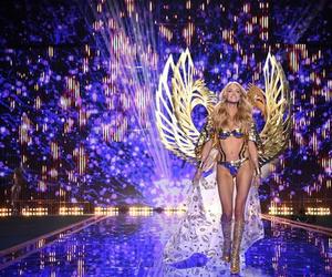 model, runway, and victorias secret image