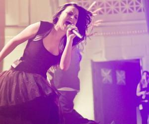 amy lee, evanescence, and concert image