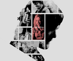 the walking dead, daryl dixon, and bethyl image