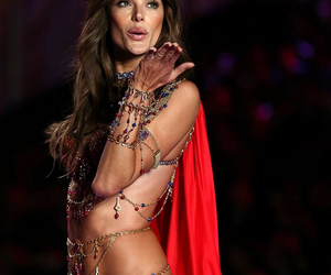 alessandra ambrosio, vsfs 2014, and exotic travelles image