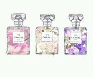 love, chanel, and flowers image
