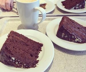 chocolate, cake, and yummy image