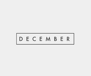 black, christmas, and december image