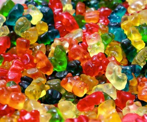 candy, colorful, and gummy bear image