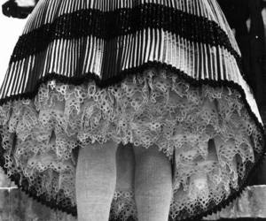 dress, pleats, and hungarian image