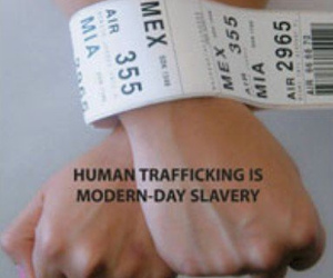 freedom, trafficking, and hands image