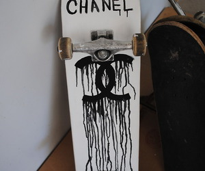 chanel, skateboard, and skate image