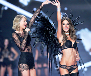 Victoria's Secret, Taylor Swift, and alessandra ambrosio image