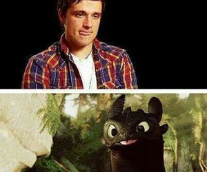 josh hutcherson and how to train your dragon image