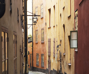 gamla stan, old town, and rod image
