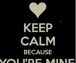 angel, mine, and keep calm image
