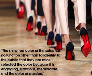 heels, louboutin, and shoes image
