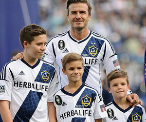 beckham, family, and perfect image