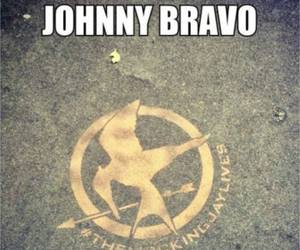 Johnny bravo and hunger games image