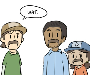 clementine, kenny, and lee image