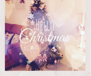 christmas, december, and hearth image