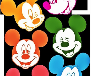 cartoon, mickeymouse, and color image