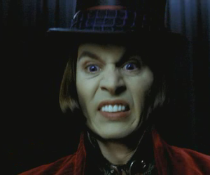 charlie and the chocolate factory and Willy Wonka image