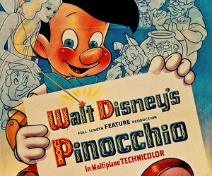 disney, pinocchio, and poster image