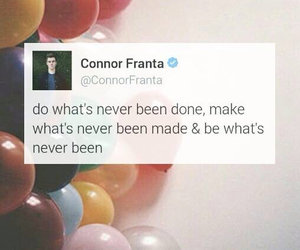 quote, Connor, and connor franta image