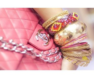 bracelets, coco, and pink image