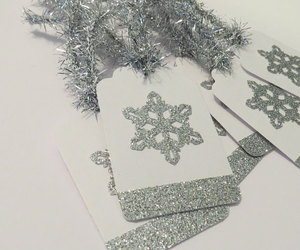 christmas, frozen, and gift tags image