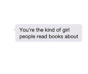 books, girl, and tumblr image