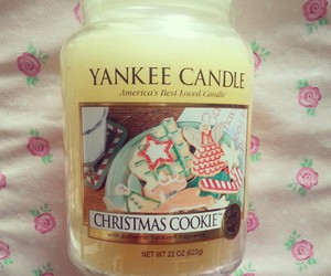 candles, christmas, and cookie image