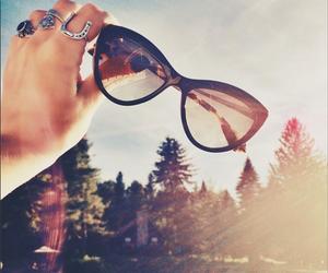 sun, summer, and sunglasses image