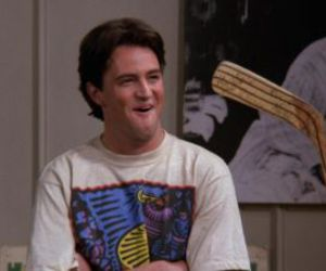 friends, chandler bing, and tv show image
