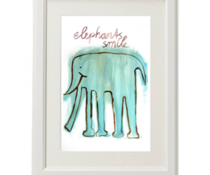 baby, decoration, and elephants image