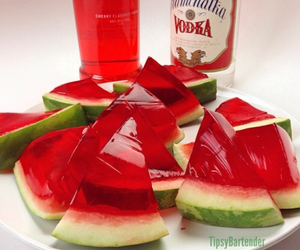 vodka, watermelon, and awesome image