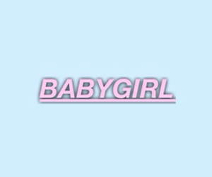baby girl, blue, and header image