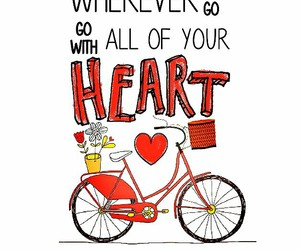 bicycle, quotes, and saying image