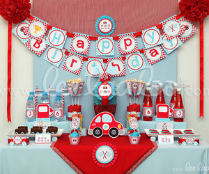 birthday, car, and birthday party image