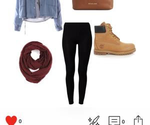 fashion, school outfit, and ootd image